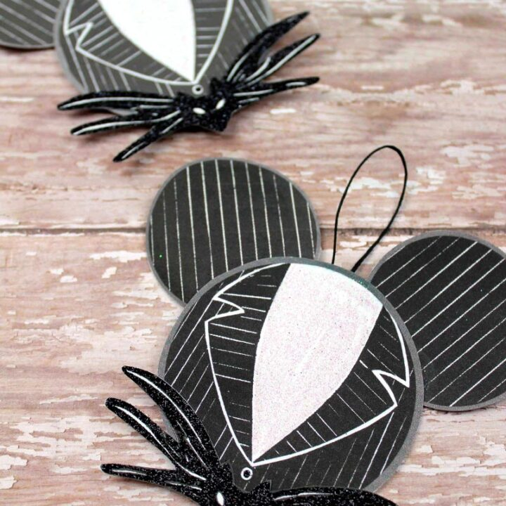 Jack Skellington Ornament Craft