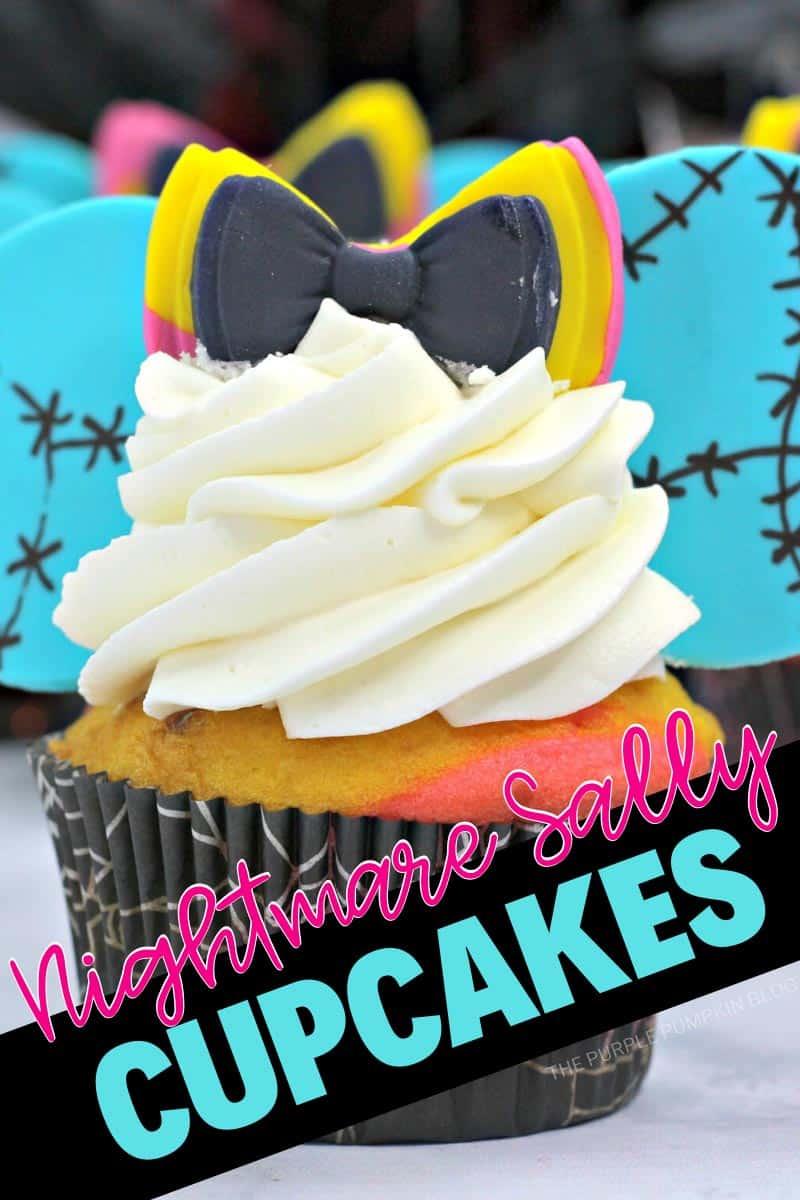Nightmare Before Christmas Sally Cupcakes