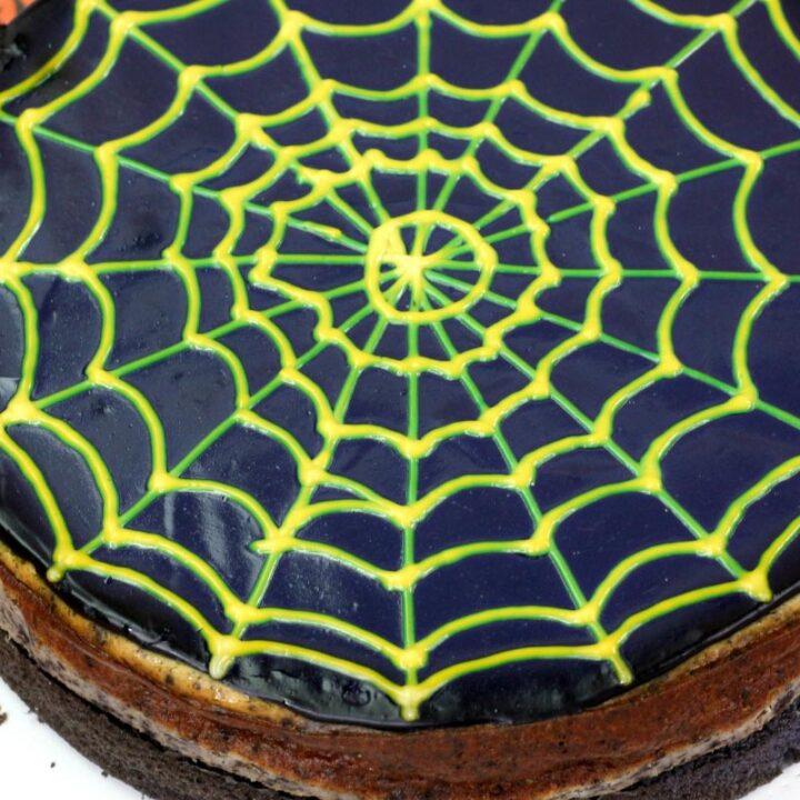 Spiderweb Cheesecake Recipe