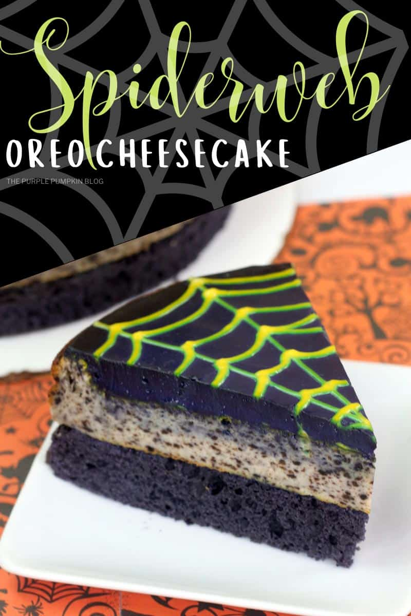 Spiderweb Oreo Cheesecake
