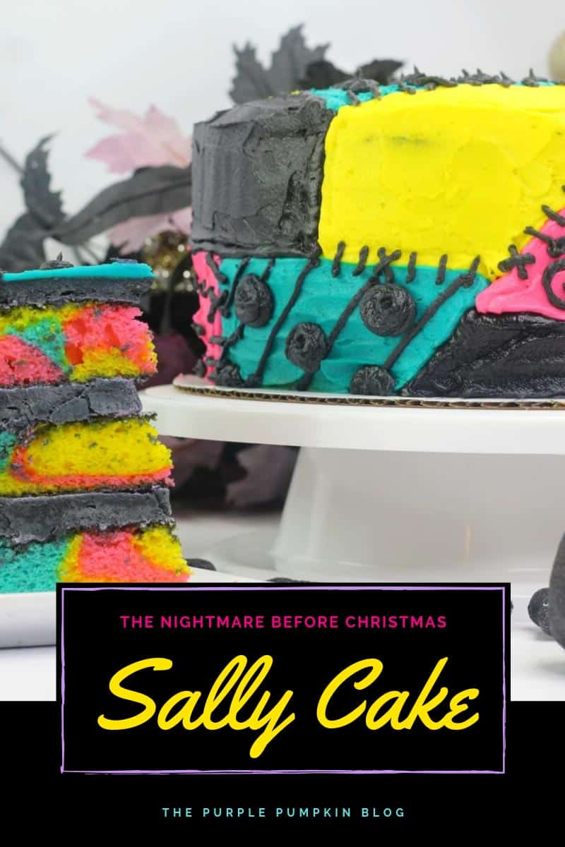 The Nightmare Before Christmas Sally Cake