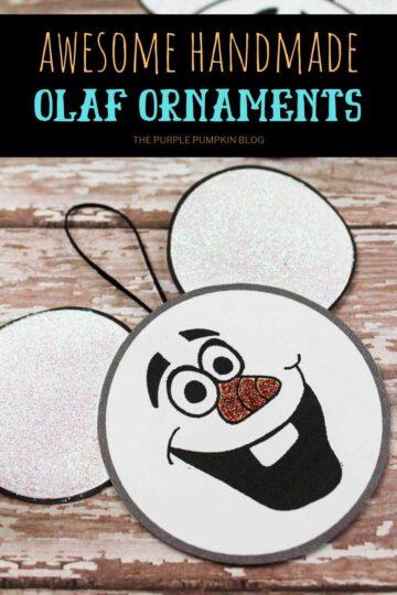 Awesome-Handmade-Olaf-Ornaments