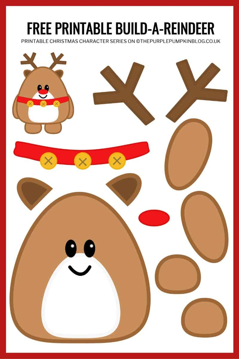 Build-A-Reindeer-Printable