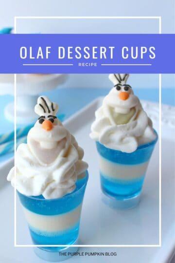Olaf-Dessert-Cups