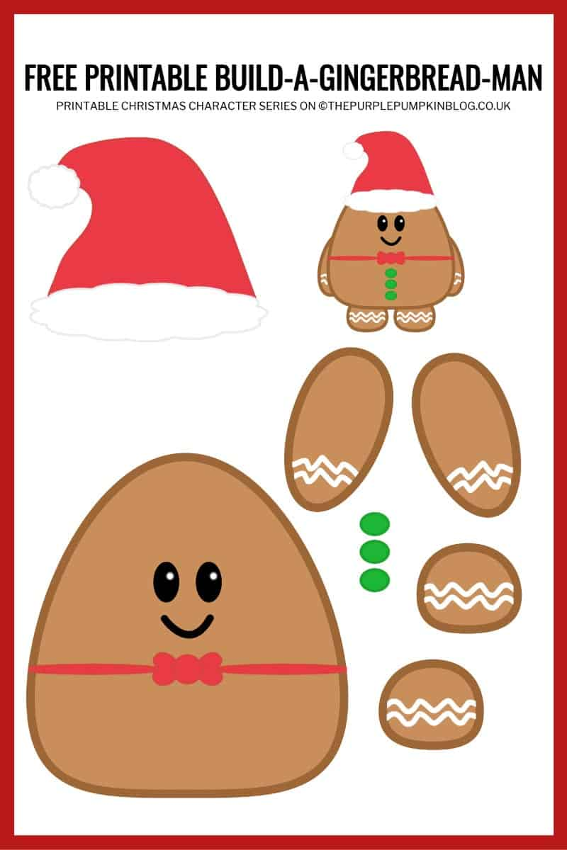 Printable-Gingerbread-Man