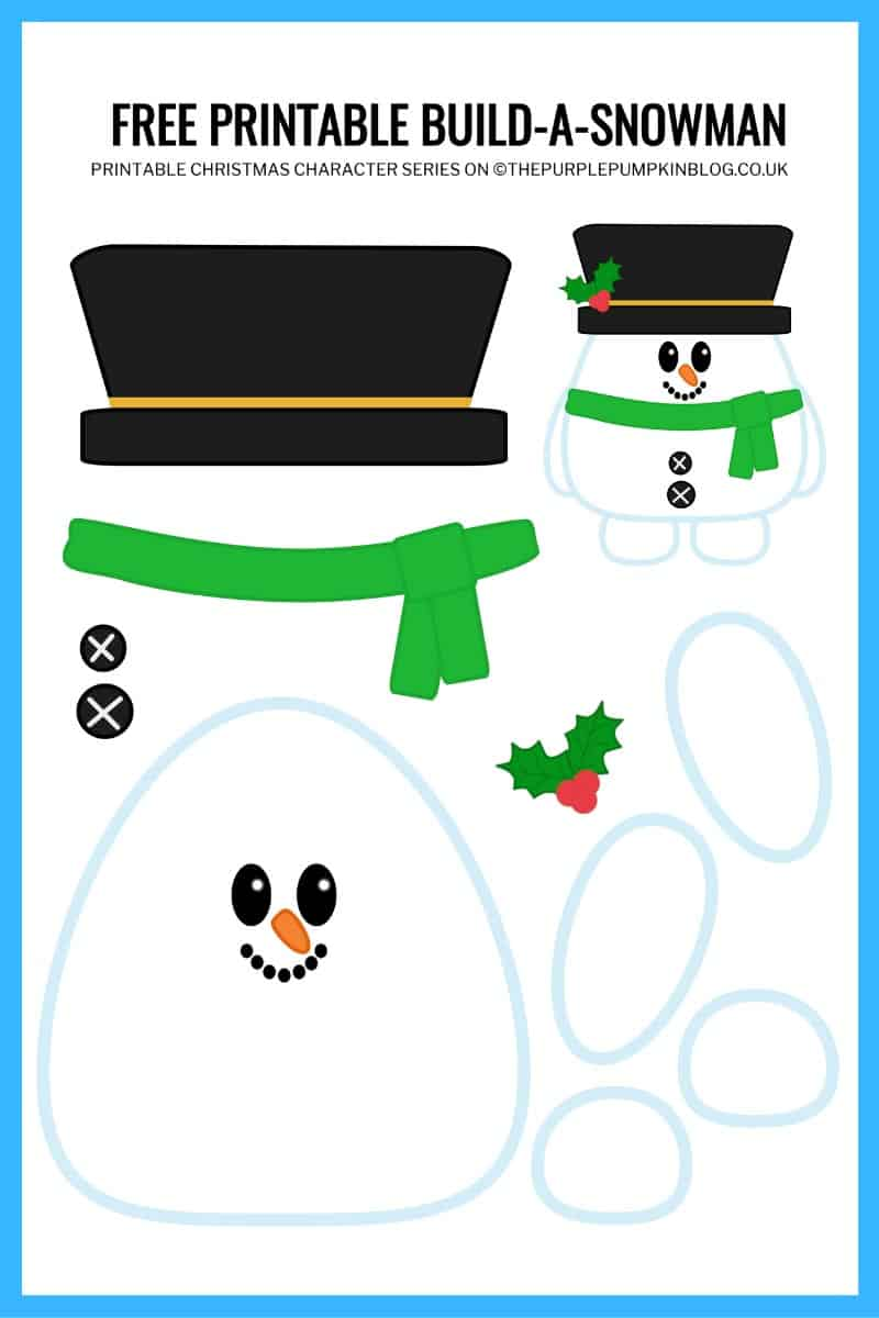 Printable-Snowman-Template