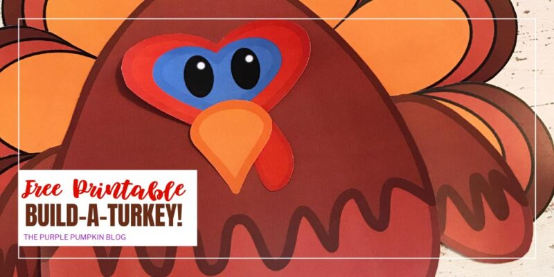 Free Printable Build-A-Turkey