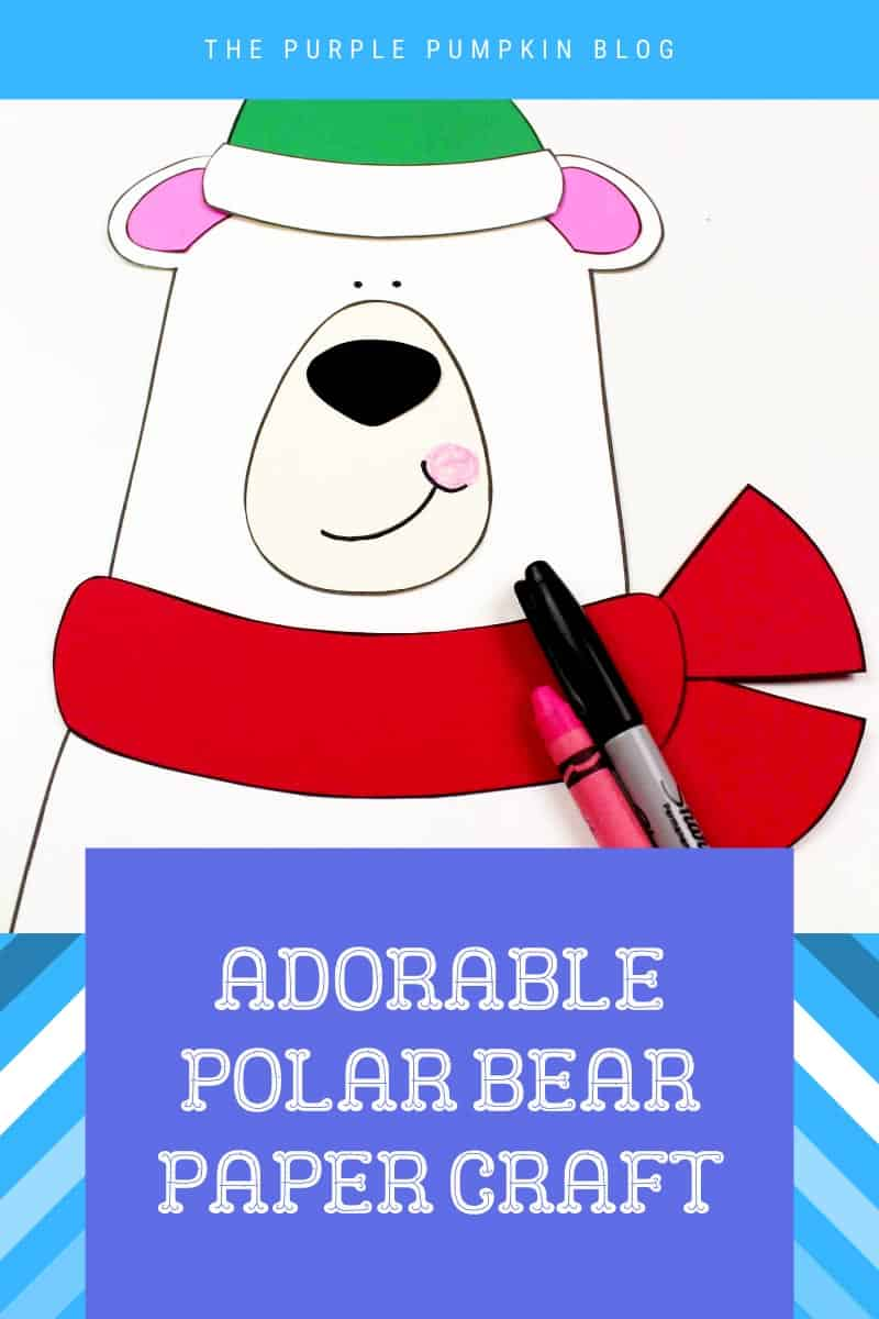 Adorable-Polar-Bear-Paper-Craft