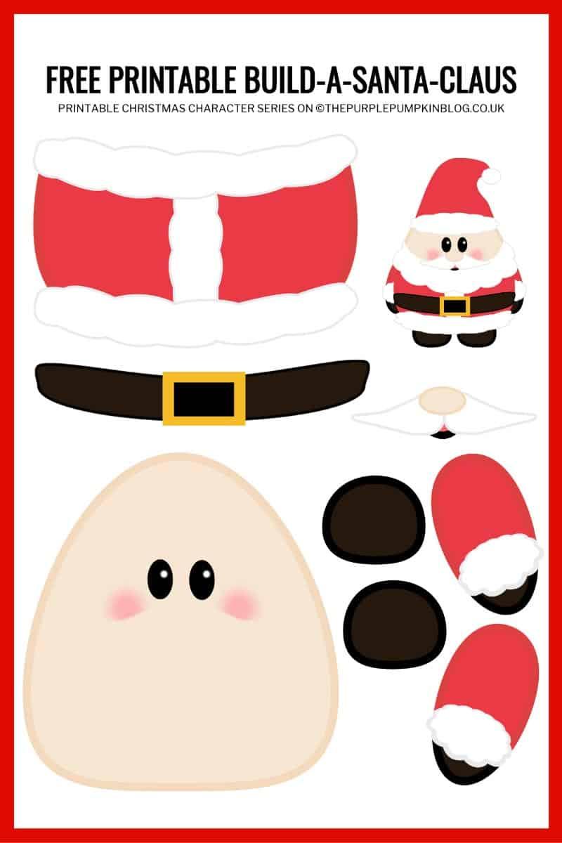 Build-A-Santa-Printable