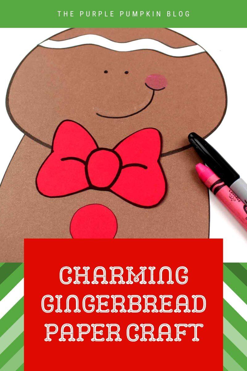 Charming Gingerbread Boy Craft