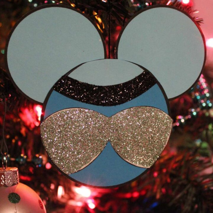 Cinderella Christmas Ornament Craft