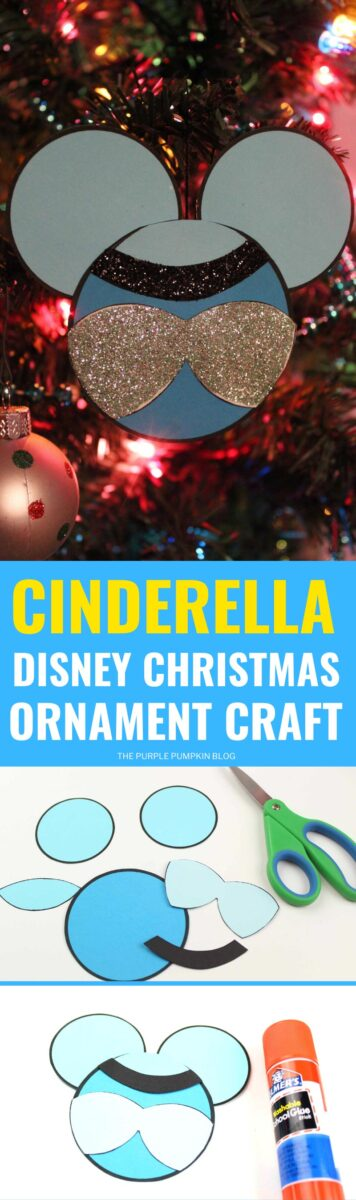 Cinderella Disney Christmas Ornaments Craft