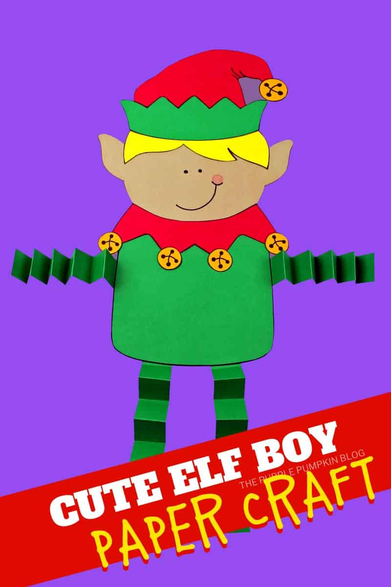 Cute-Elf-Boy-Paper-Craft