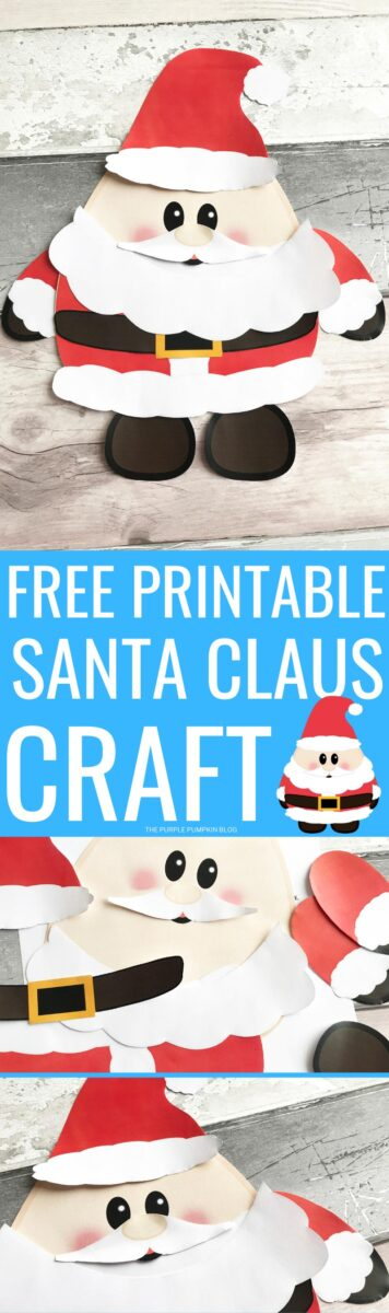 Free Printable Santa Claus Craft