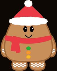 Gingerbread Boy Minifig