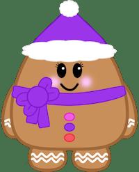 Gingerbread Girl Minifig