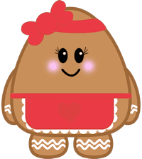Gingerbread Lady Minifig