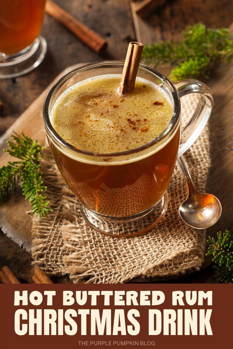 Hot Buttered Rum Christmas Drink