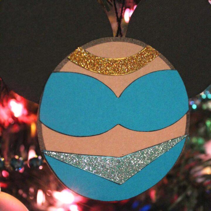 Jasmine Christmas Ornament Craft