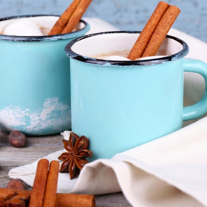 Mugs of Mexican Hot Chocolate