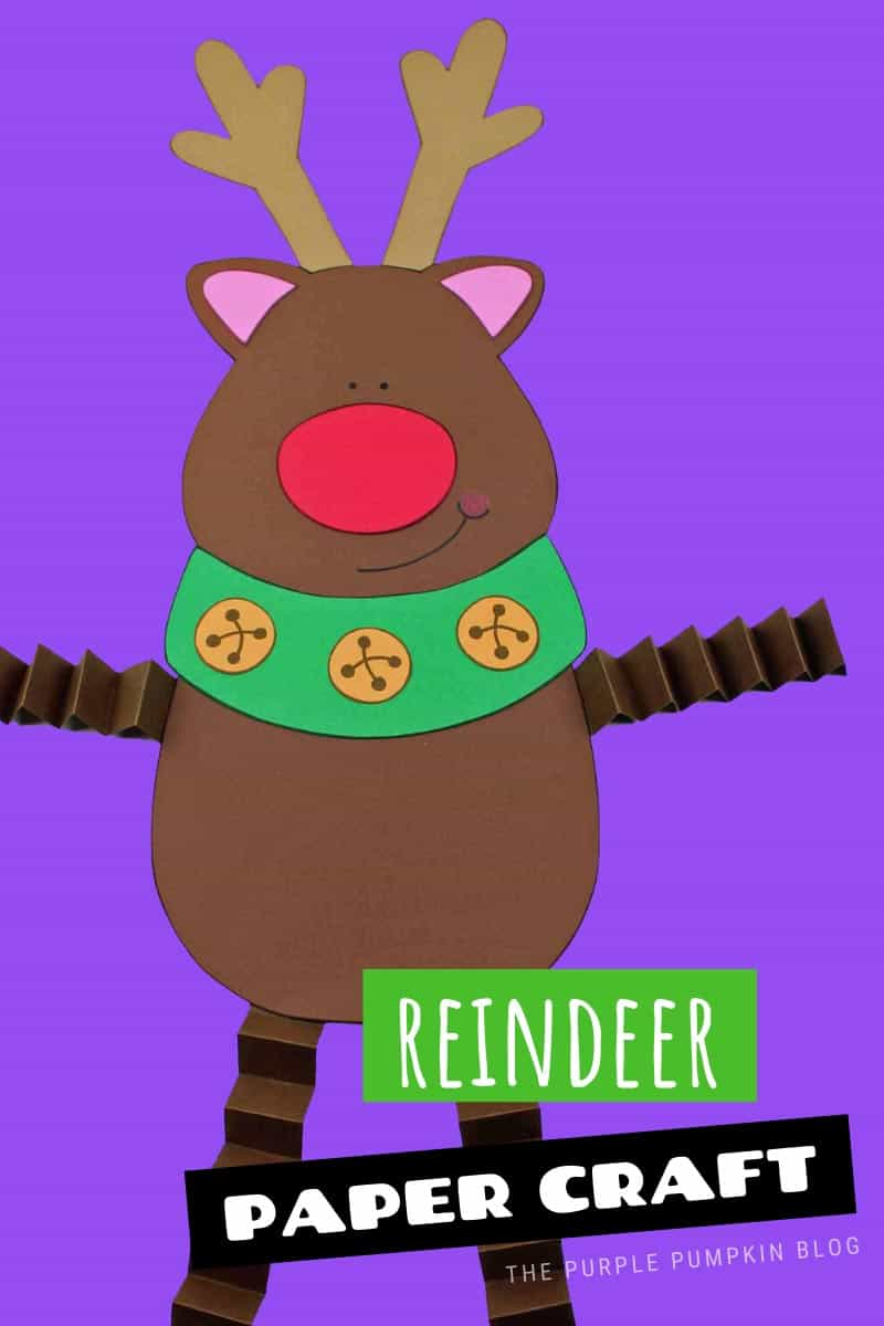 Paper-Craft-Reindeer