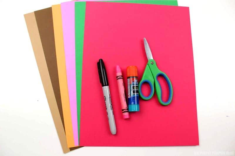 Paper Reindeer Craft Supplies