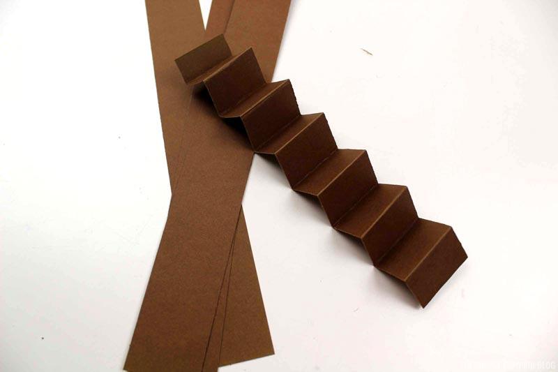 Accordion Folded Strip