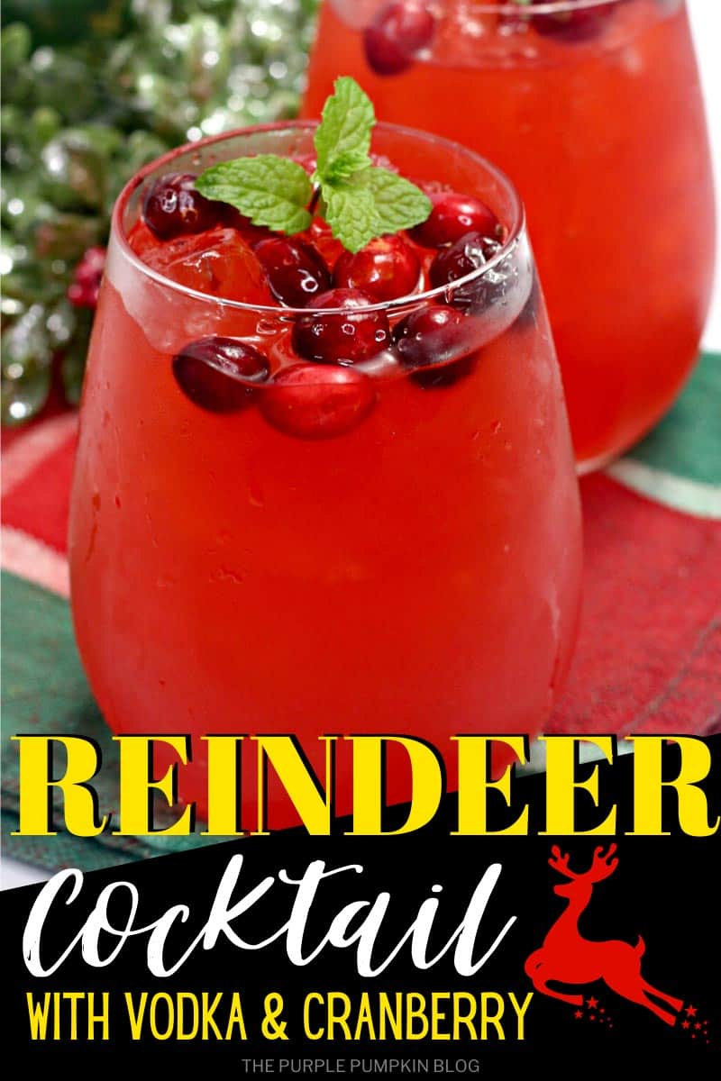 Reindeer-Cocktail-with-Vodka-Cranberry