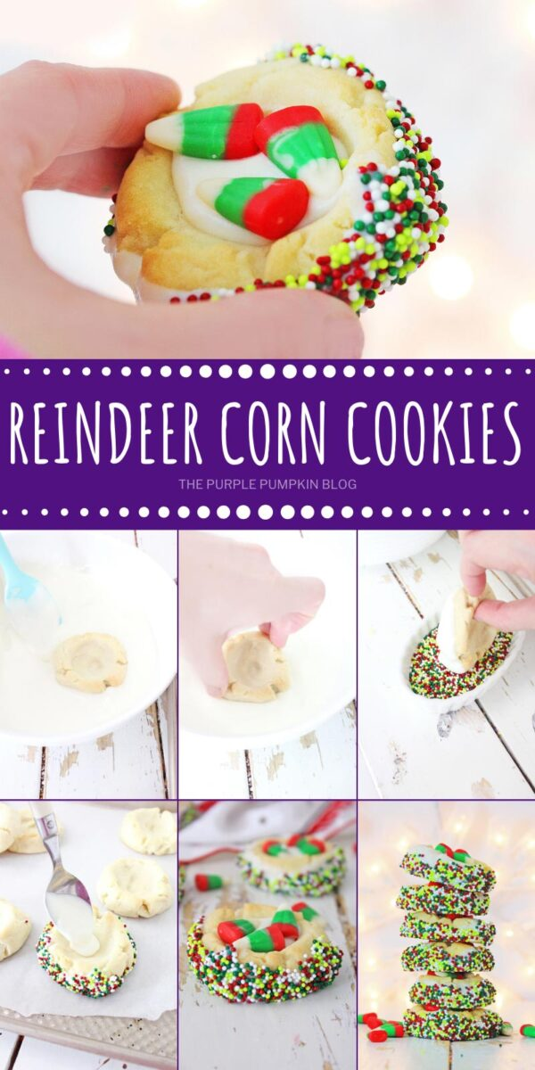 How to make Reindeer Corn Cookies