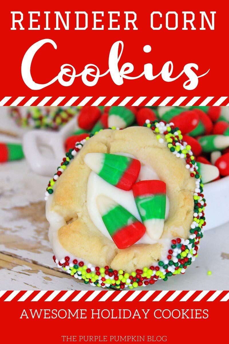 Reindeer Corn Cookies