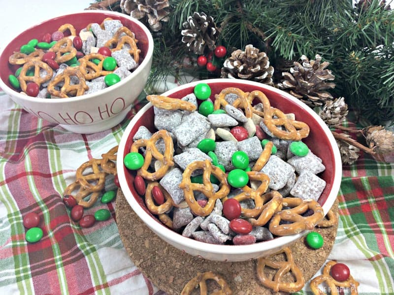 Bowls of Reindeer Chow