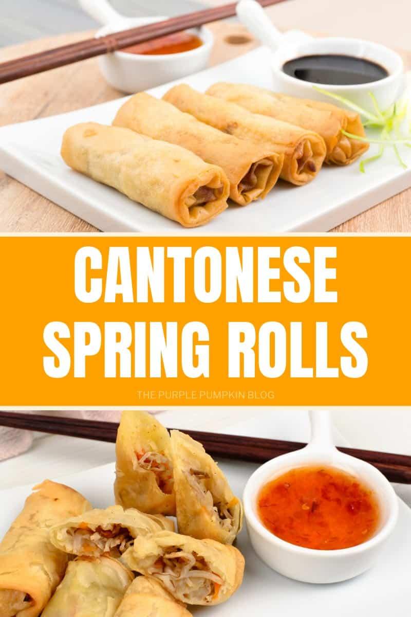 Cantonese Spring Rolls