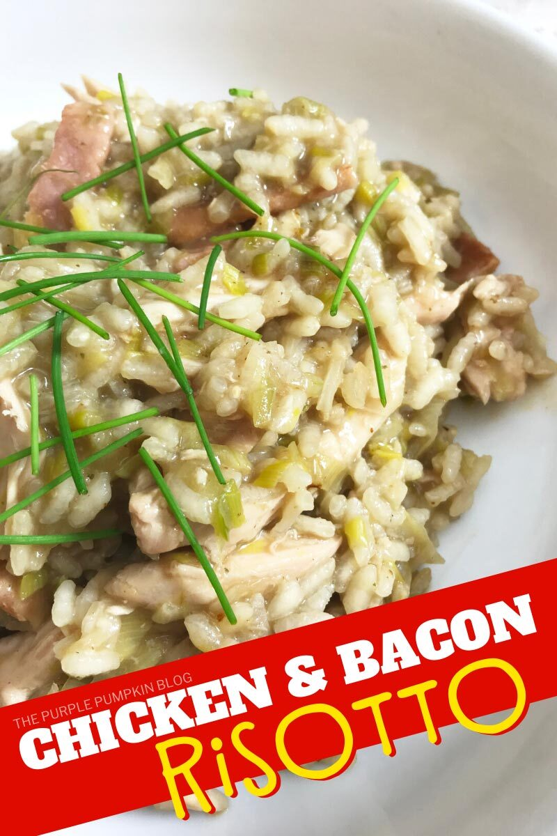 Chicken and Bacon Risotto