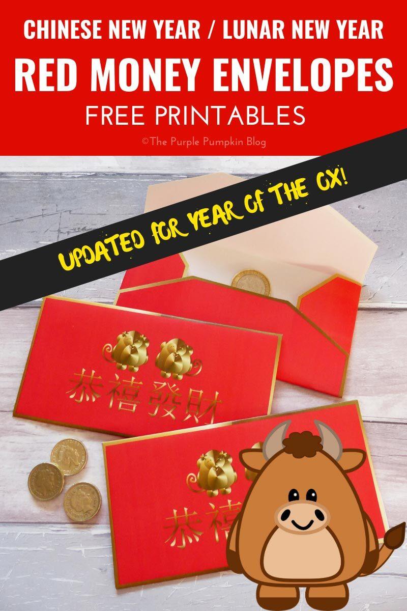 Red Money Envelopes for Lunar New Year