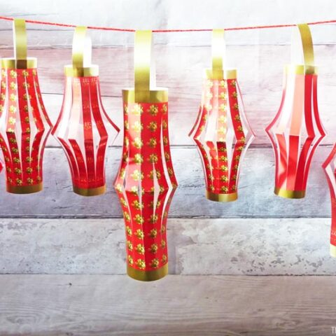 Chinese New Year Paper Lanterns