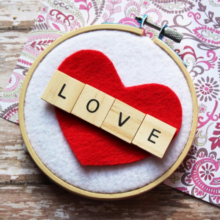 LOVE Wall Hanging Craft