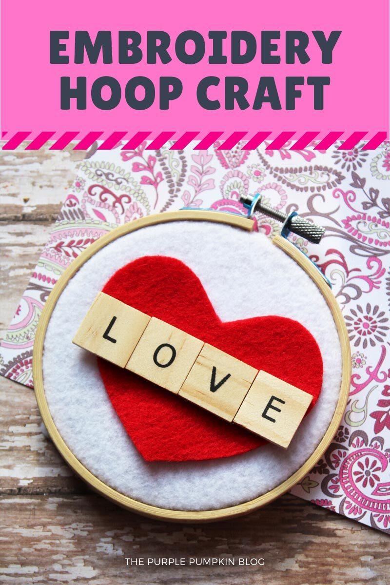 Embroidery Hoop Craft