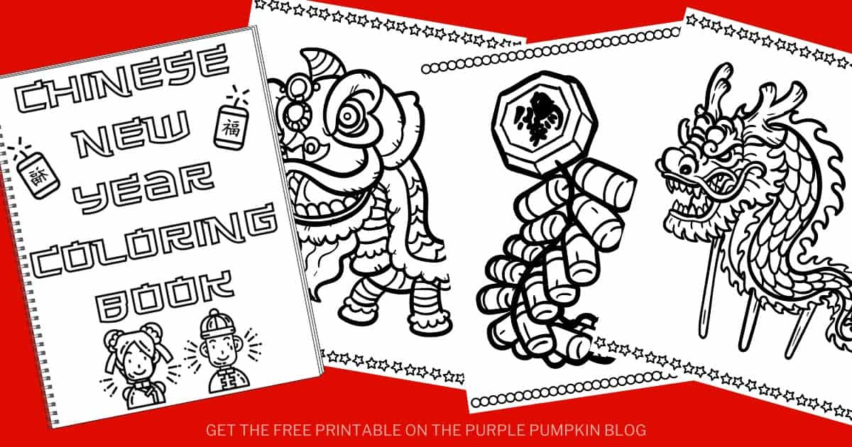 Chinese New Year Coloring Book For The Year Of The Ox Free Printable Coloring Pages
