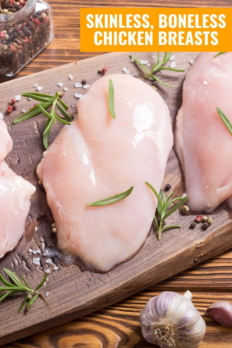 Skinless Boneless Chicken Breasts