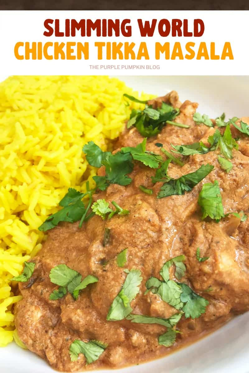 Slimming World Chicken Curry Chicken Tikka Masala