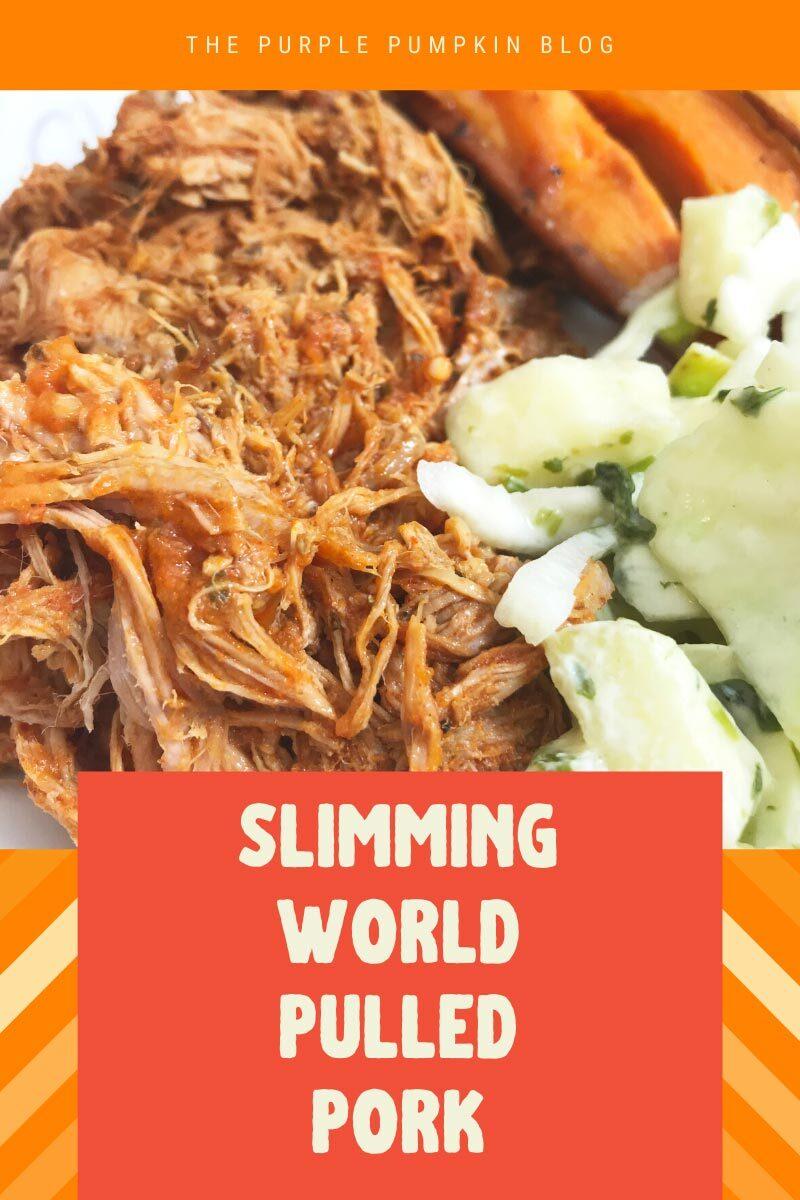 Slimming World Friendly Pulled Pork