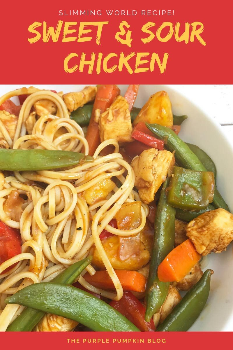 slimming world friendly sweet and sour chicken recipe