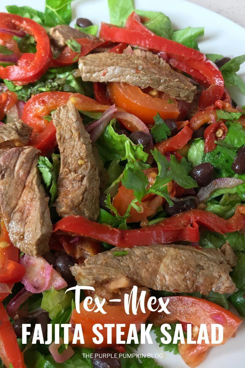 Tex Mex Fajita Steak Salad