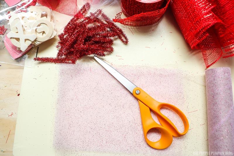 Cut Light Pink Tulle