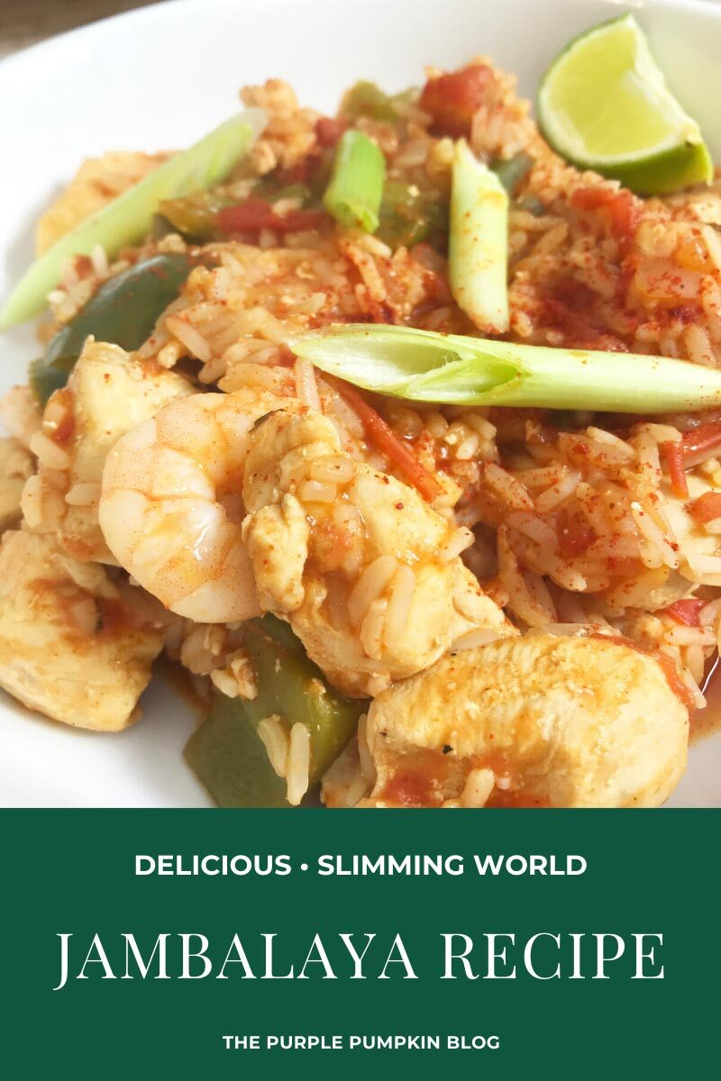Delicious Delicious Jambalaya Slimming World Friendly Recipe