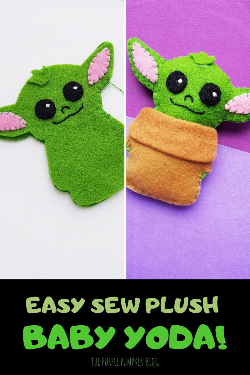 Easy Sew Plush Baby Yoda!