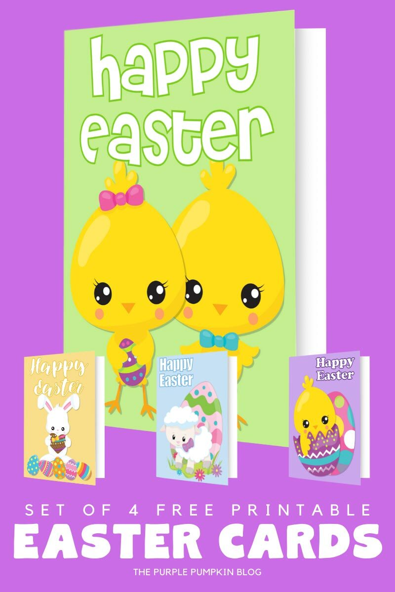 Free Printable (Chicks) Easter Cards