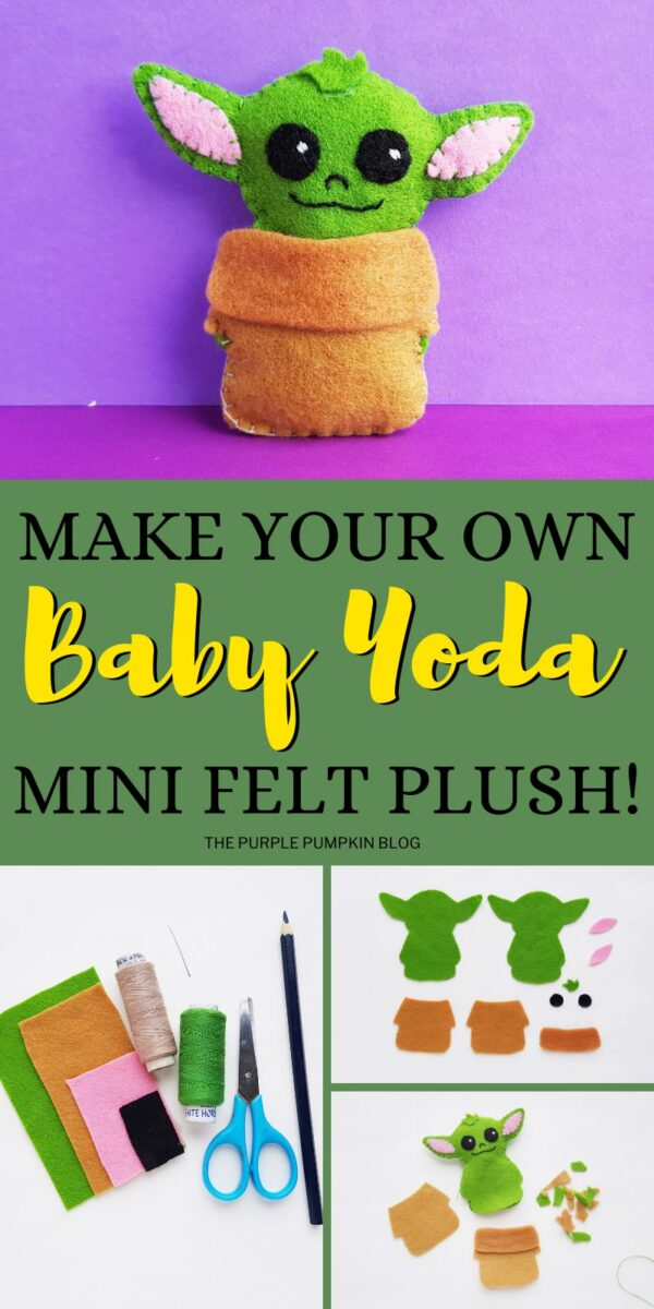 Make Your Own Baby Yoda Mini Felt Plush