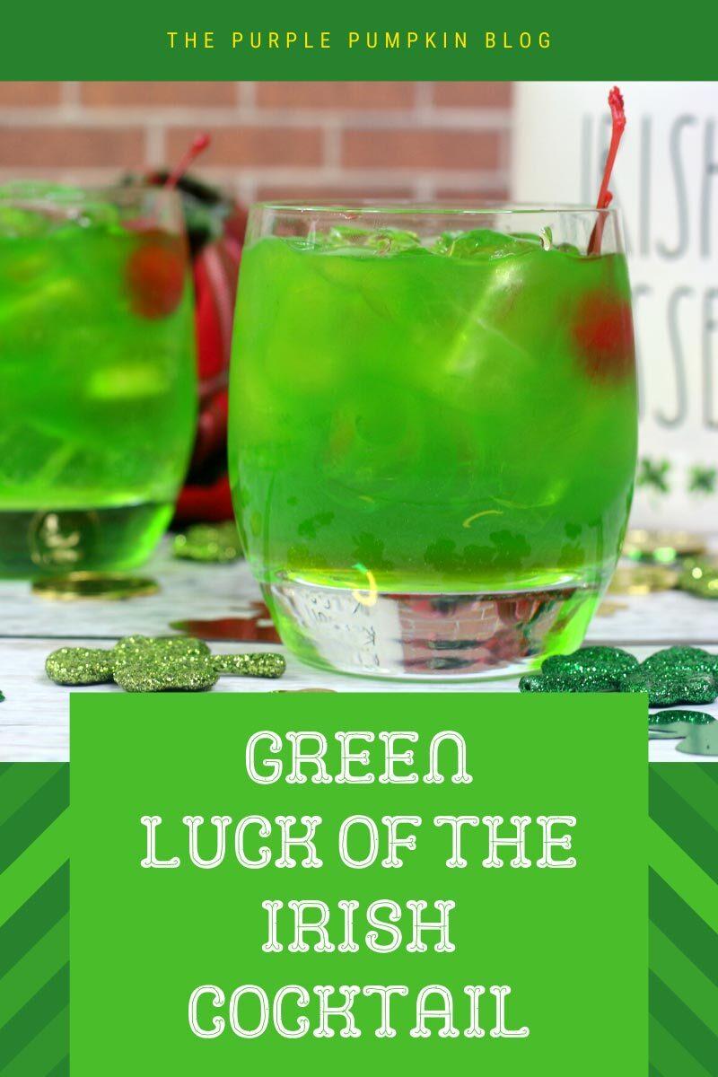 Green Luck o' the Irish Cocktail