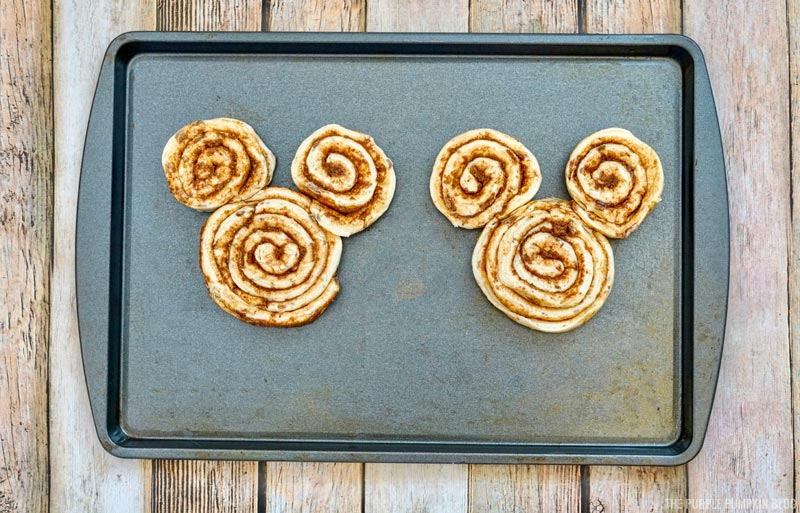 How to Make Mickey Mouse Cinnamon Rolls
